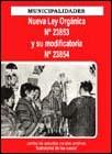Municipalidades. Nueva Ley Orgánica N° 23853 y su modificación N° 23854