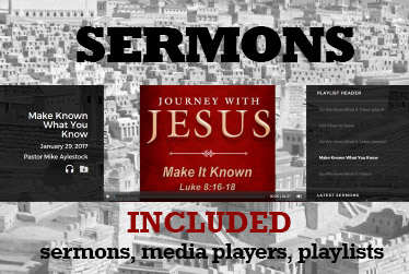 Sermon Player Included