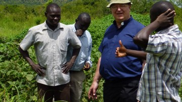 Bishop Kenney echoes South Sudan Bishops' call for humanitarian assistance for the conflict and famine hit country