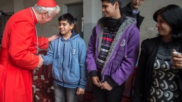"Cardinal praises ""witness and strength"" of small Catholic community in Gaza"