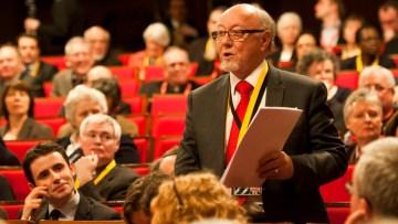 Archbishop Peter Smith pays tribute to Jim Dobbin MP
