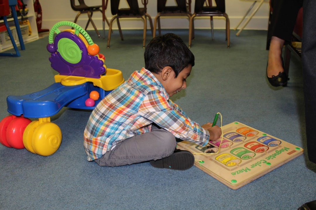 Picture of playing child - our congregation