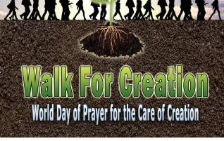 Walk For Creation: World Day of Prayer for the Care of Creation