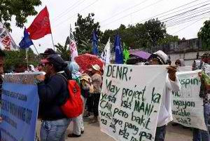 24 November Indigenous Women's Action to Protect Manicani Island