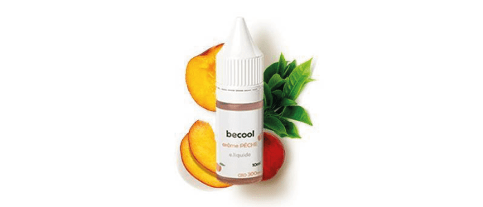 BeCool 300mg CBD Pêche / Thé Vert