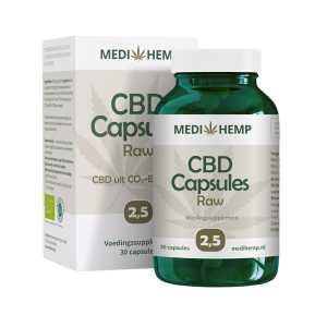 CBD capsules 2,5 procent