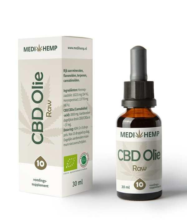 CBD olie 10 procent 30 ml Medihemp
