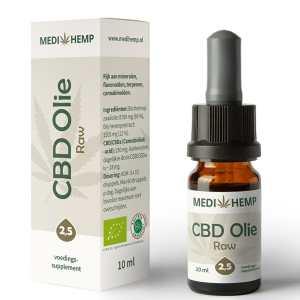 CBD olie 2,5 procent 10 ml Medihemp