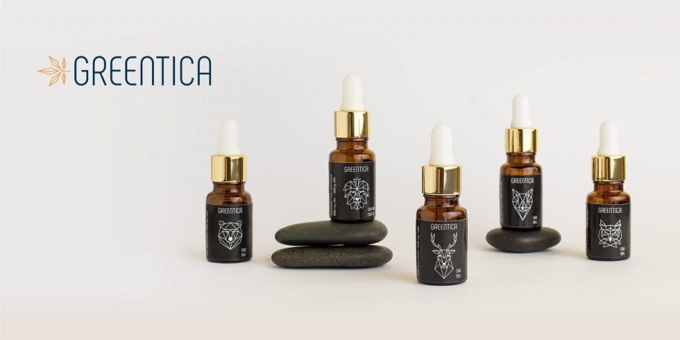 CBG olej/kvapky Greentica