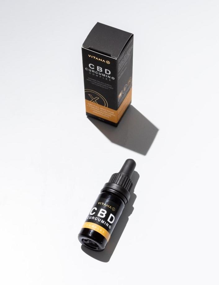 CBD kvapky VITANA-X, 10 ml