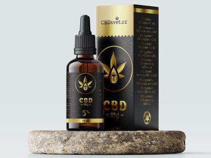 CBD kvapky z CBD izolátu CBDsvět, 5 %