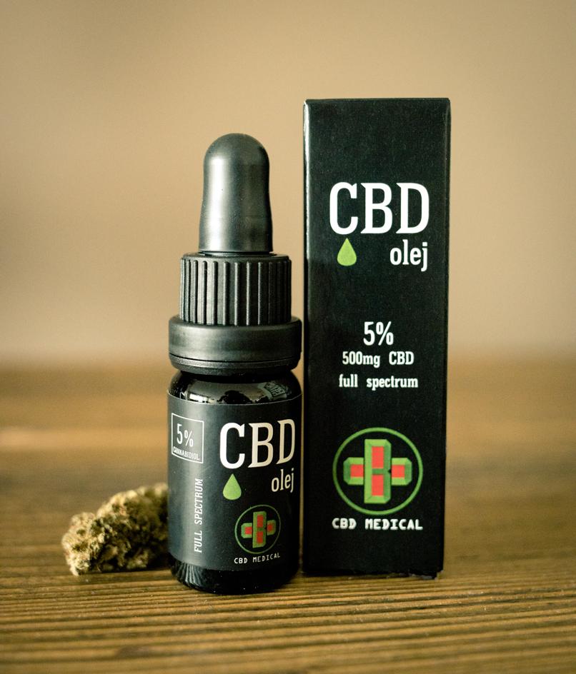 CBD olej/CBD kvapky CBD Medical, 5 %