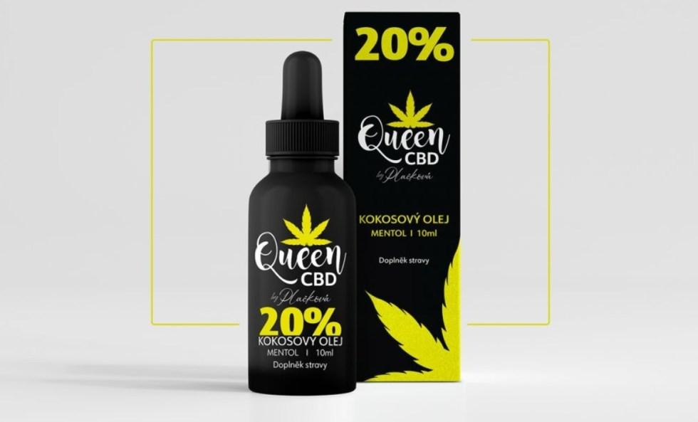 Queen CBD olej - 20 %