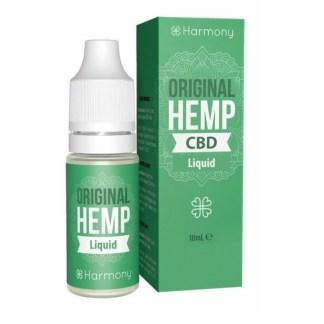 CBD e-liquid Harmony, Original Hemp, 10ml