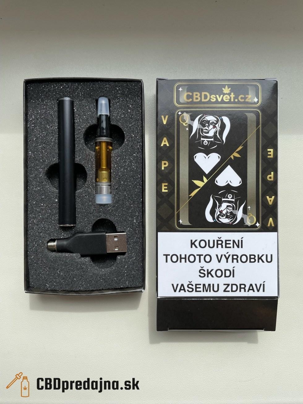 CBD e-cigareta (USB)