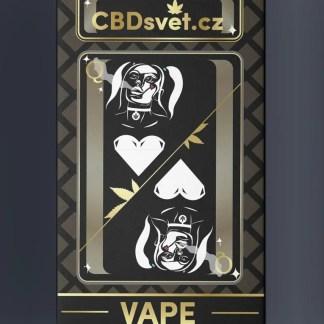 CBD e-cigareta CBDsvět, 60% CBD + 20% THV (náplň)