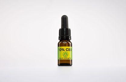 CBD kvapky GreenLife, 10 % CBD izolát, 10ml
