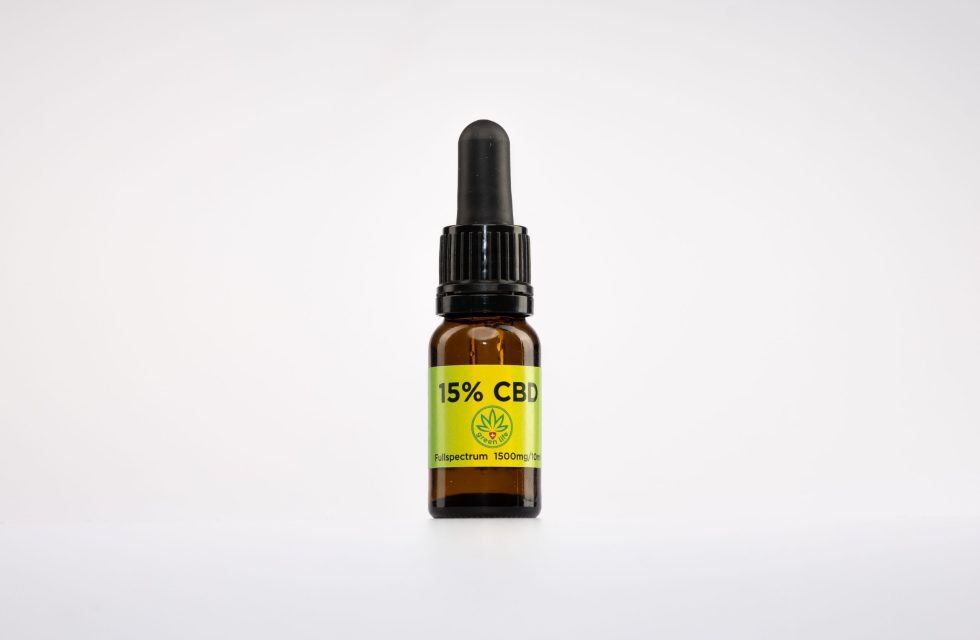 CBD kvapky GreenLife, 15% Full Spectrum, 10ml