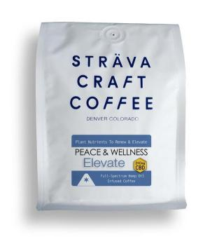 Strava Craft Coffee - Elevate 250mg of CBD
