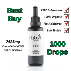 NuLeaf Full Spectrum CBD Oil 2,425mg