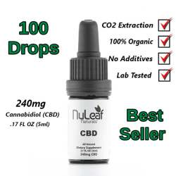 NuLeaf Full Spectrum CBD Oil 240mg
