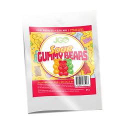Sour Gummy Bears 250 MG CBD INFUSED