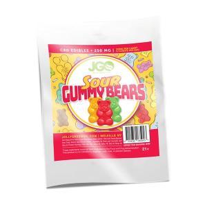 Sour Gummy Bears 250 MG CBD INFUSED