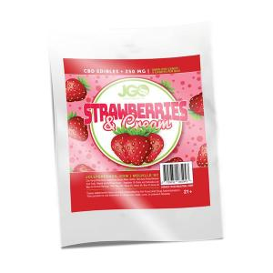 Strawberries and Cream 250 MG CBD INFUSED