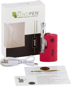 Kind Pen mist Vape Device - Red