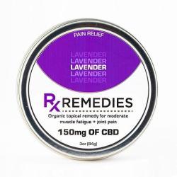 Rub CBD Lavender 150mg - 3 oz