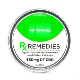 Rub CBD Wintergreen 150mg - 3 oz