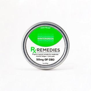 Rub CBD Wintergreen 50mg - 1 oz