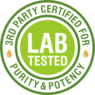 Our CBD Oil is lab tested.