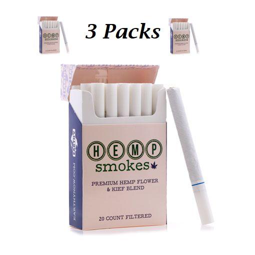 Hemp Cigs 3packs
