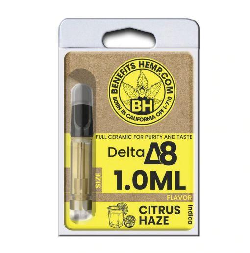 Delta8 Cartridge 1000mg Citrus Haze