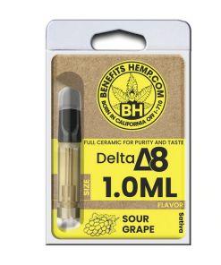 Delta 8 Cartridge 1000mg Sour Grape