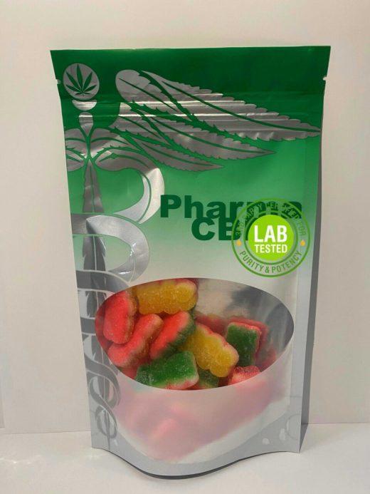 Hemp Derived Delta-8 THC Triple Layer gummy Bear Edibles