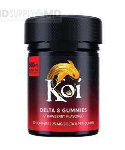 Koi Delta-8 THC Strawberry Gummies – 500mg