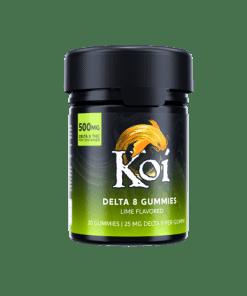 Koi Delta-8 THC Lime Gummies