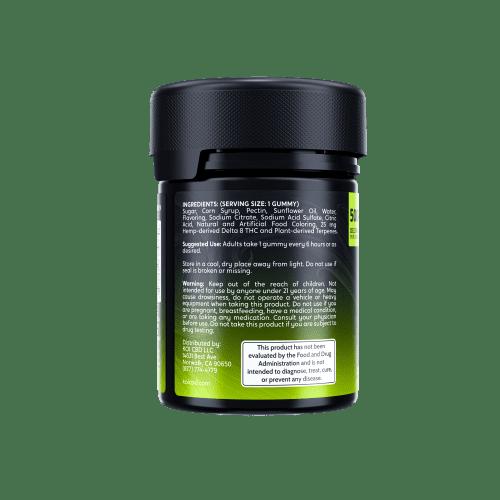 Koi Delta8 Gummies Lime 03