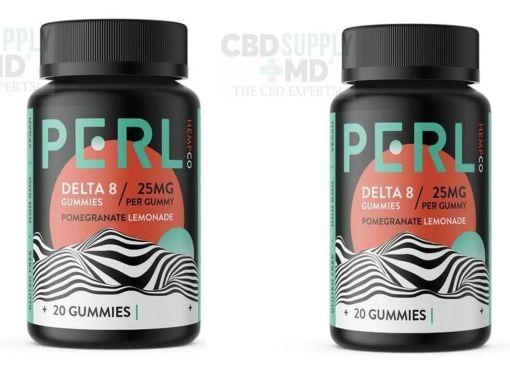 Perl Delta 8 THC Gummies – Pomegranate Lemonade