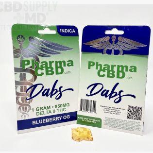 Delta 8 THC Dabs Blueberry OG