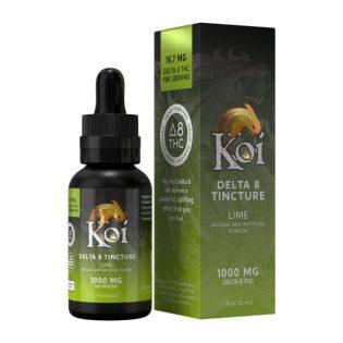 Koi Delta 8 THC Tincture Oil – Lime 1000mg
