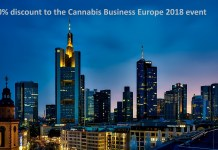 30% discount to the Cannabis Business Europe 2018