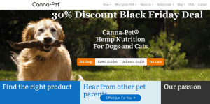 Canna-Pet Black Friday Deal