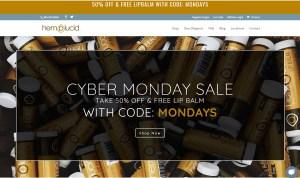 hemplucid cyber monday CBD deal