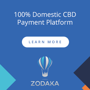 Zodaka 100% Domestic CBD Payment Platform