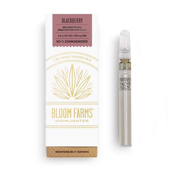 Bloom Farms-blackberry-CBD mini-vape-CBDToday