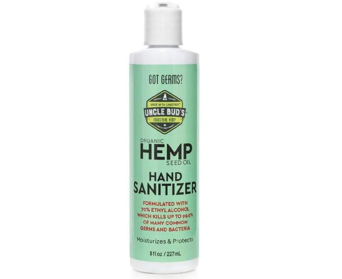 Uncle Bud's Hemp Hand Sanitizer-CBD products-CBDToday