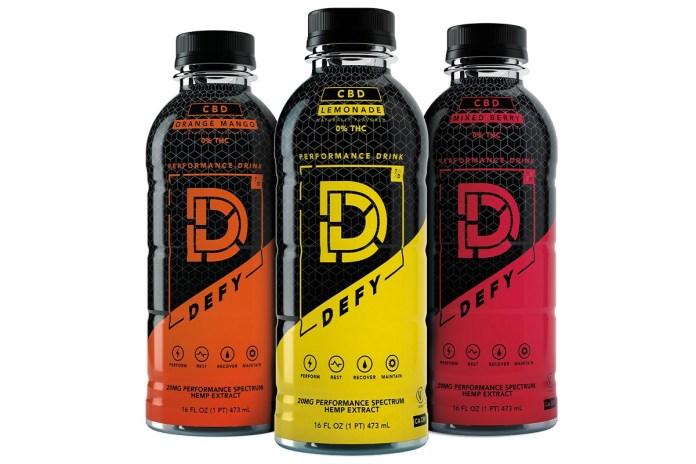 Defy Hemp Performance Drinks-CBD products-CBDToday